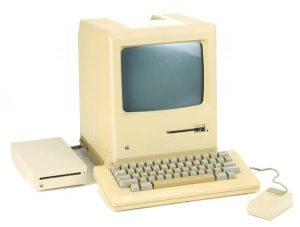 computer van vroeger